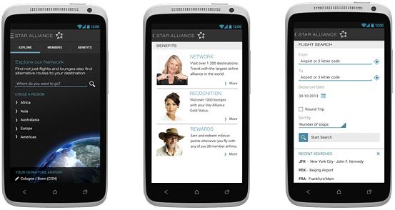 スターアライアンス、Android向けナビゲーションアプリの提供開始