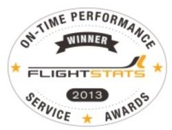 JAL、定時到着率が2年連続世界1位、グループ全体はネットワーク部門の1位に