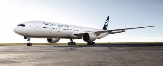 ニュージーランド航空、11月に成田線を週10便に増便、渡航者数2倍を目標