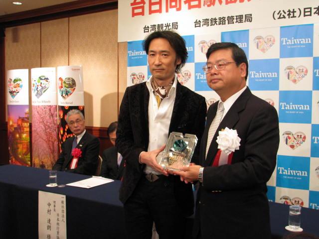 台湾観光局、新しい観光親善大使に雅楽師・東儀秀樹さんを任命