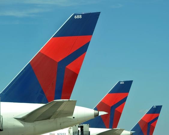 デルタ航空、5月の太平洋路線ロードファクターは84.4%、有償旅客マイルは微減