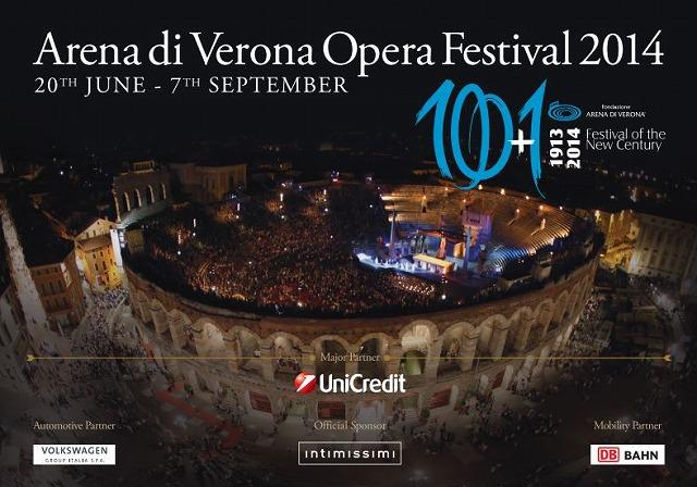 イタリア、ヴェローナの野外オペラ祭開催期間が決定