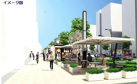 東京都、道路にパリの賑わいを、シャンゼリゼ・プロジェクト開始