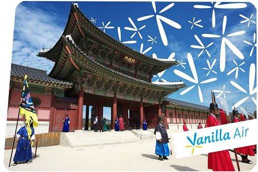 バニラエア、ソウル線初便は往復とも満席、春休みは1日4便に増便