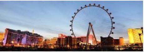 ラスベガス、高さ世界一の大観覧車が営業開始、1キャビンに最大40名