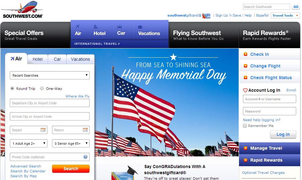サウスウェスト航空、アマデウスとの契約で国内・国際線の予約システム1本化へ
