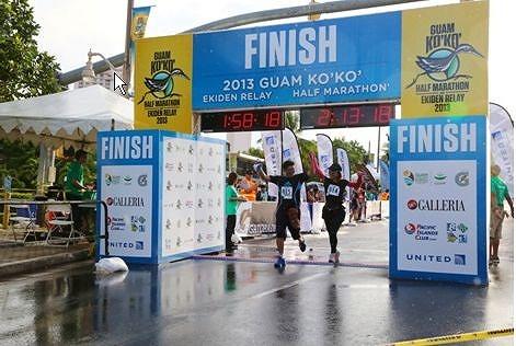 グアム、2014年のココハーフマラソン&駅伝リレーの参加受付を開始