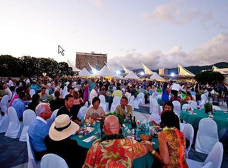 ハワイフード&ワインフェスティバル、JTBとHISの日本人旅行者限定のイベント開催