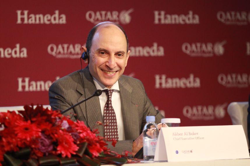 カタール航空CEOが語る今後の日本路線、コードシェアは「すべてANAからJALに移行」
