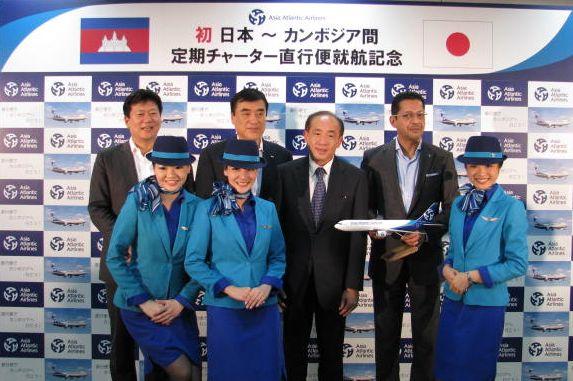 HISの航空会社、カンボジア直行便を開設へ、澤田氏「今までのLCCとは違う観点で」