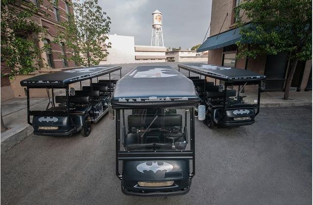 米ロサンゼルス、ワーナー・ブラザーズ・スタジオでバットマン特別展