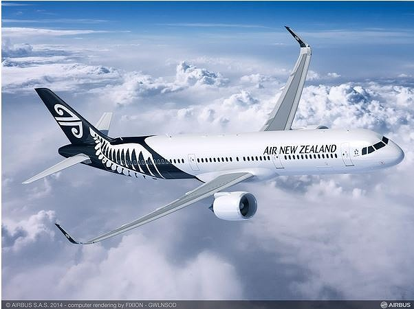 ニュージーランド航空、A320neo13機を購入へ、機材計画を発表