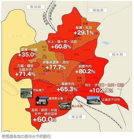 楽天、「富岡製糸場エリア」の宿泊予約が6割増、世界遺産登録間近で