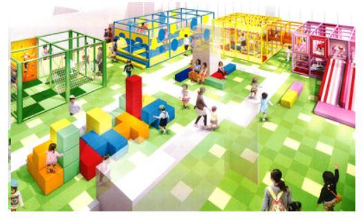 北海道・新千歳空港、大型立体遊具で幼児が遊べるアスレチックなど新施設オープン