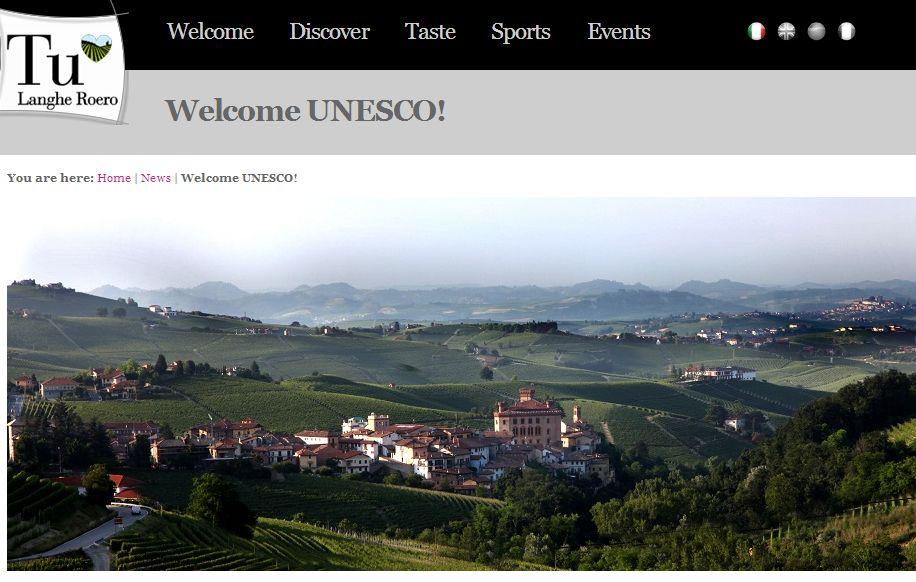 イタリア、新しい世界遺産に「ピエモンテのブドウ畑の景観」が登録