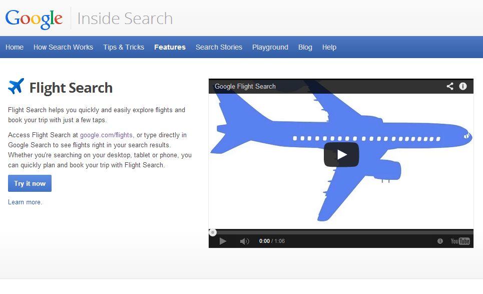 グーグル・フライト・サーチにエティハド航空が参画、運賃検索が簡単に【動画】