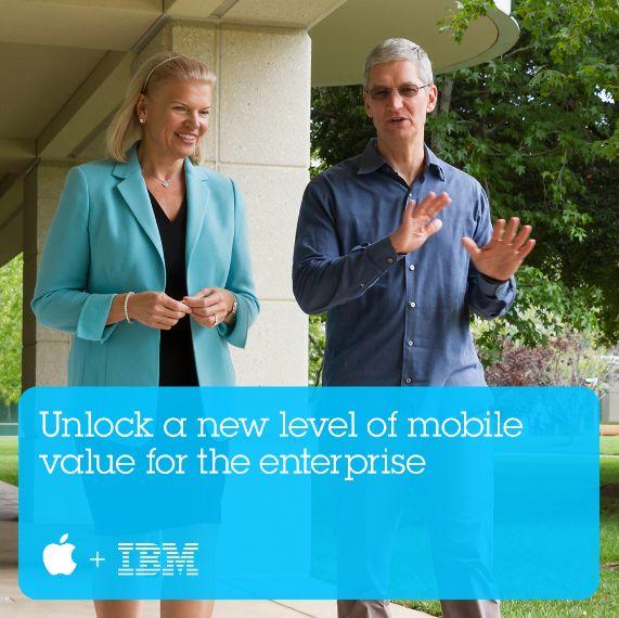 米アップルとIBMが提携、旅行・運輸業界もターゲットに企業向けアプリ開発
