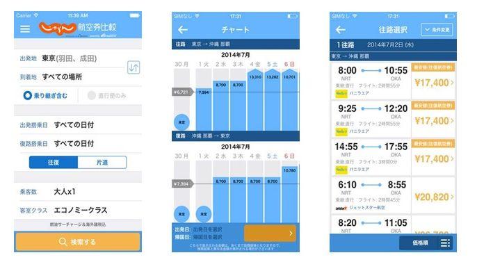 リクルートとスカイスキャナーが提携、航空・旅行会社など1000社超の航空券検索・予約アプリをリリース