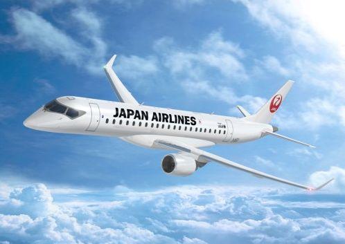 JALが三菱MRJを32機導入、地方ネットワークの主力機として
