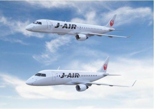 JAL、エンブラエル社製の新機材を2015年から導入、計27機の購入契約