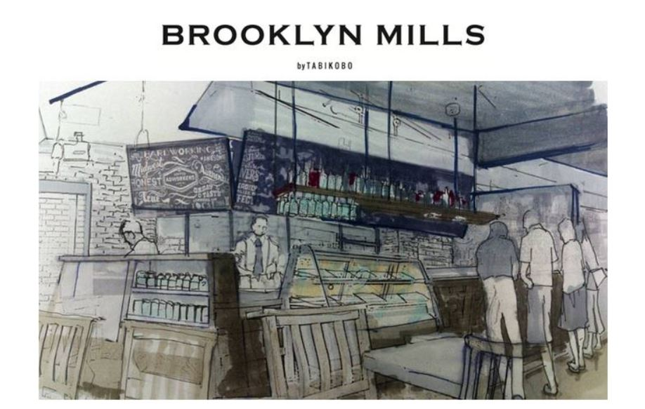 iPadで旅相談できるカフェがオープン、旅工房が米ニューヨーク・ブルックリン地区をモチーフに