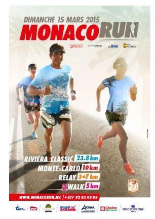 モナコ、フランス、イタリアの3カ国を駆け抜ける「MONACO RUN」、2015年は3月15日に開催