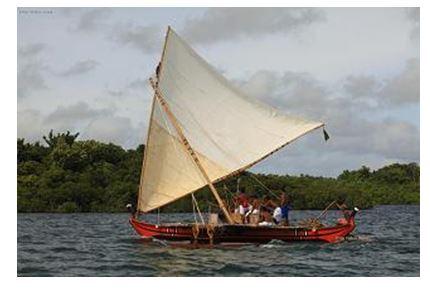 ミクロネシア・ヤップ島で伝統カヌーのフェスティバル開催、島民手作りの純朴さで
