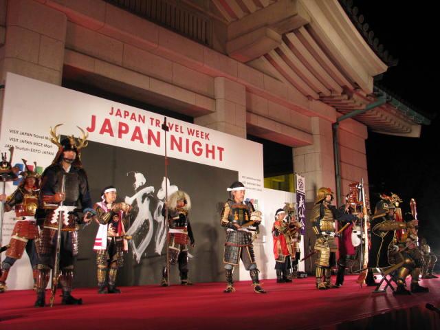時代衣装で日本をアピール