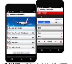 JALが外国人向けサービスを強化、モバイルサイト12言語でウェブチェックインや情報サイトの多言語化など