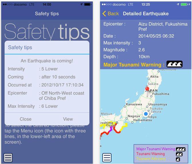 観光庁、外国人旅行者向けに災害時の情報アプリを提供、緊急地震速報や避難行動を英語でプッシュ通知