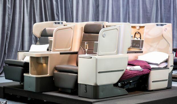 離陸から着陸までクライニング可能な座席が登場、 カンタス航空