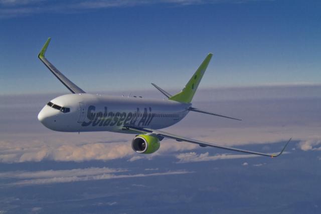 ソラシドエアが全路線全便でB737-800導入、機内手荷物収納スペース拡大などで快適性高く