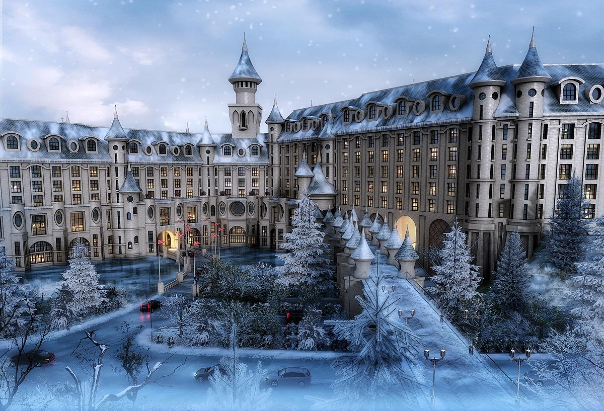 中国に「ハローキティ」のアミューズメントパーク、5つ星ホテル併設でMICE施設など複合リゾートに