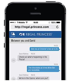 プリンセス・クルーズ、航海中に乗客同士がコミュニケーションできるアプリを開発