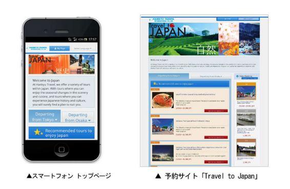 トラピックス、5言語で訪日外国人向けの国内旅行予約サイトを開設