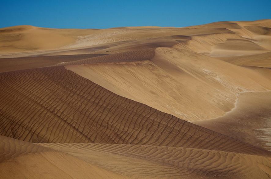 ナミブ砂漠(プレスリリースより)