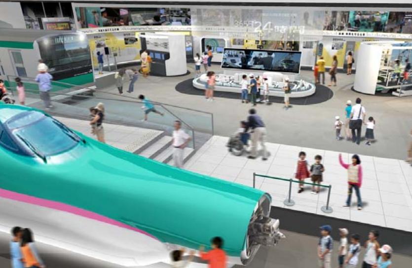 鉄道博物館、2017年に全面リニューアル・新館オープン、多言語化で外国人旅行者対応を強化 ―JR東日本