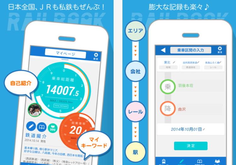 鉄道乗車の履歴を記録・シェアできるSNSアプリが登場、日本全国すべての鉄道で ―JTBパブリッシング