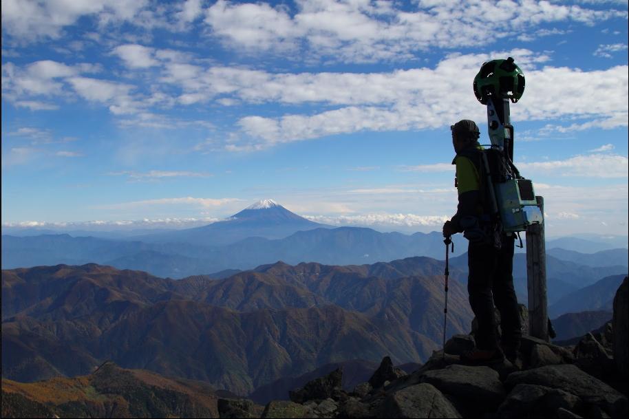 グーグル、日本の山々をストリートビューで公開、南アルプスや富士山など