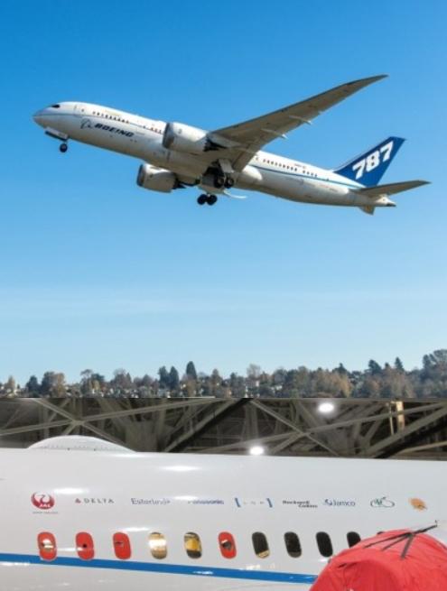 JAL、最新鋭B787‐7型機で大気観測実験に参加、気候変動研究に活かす