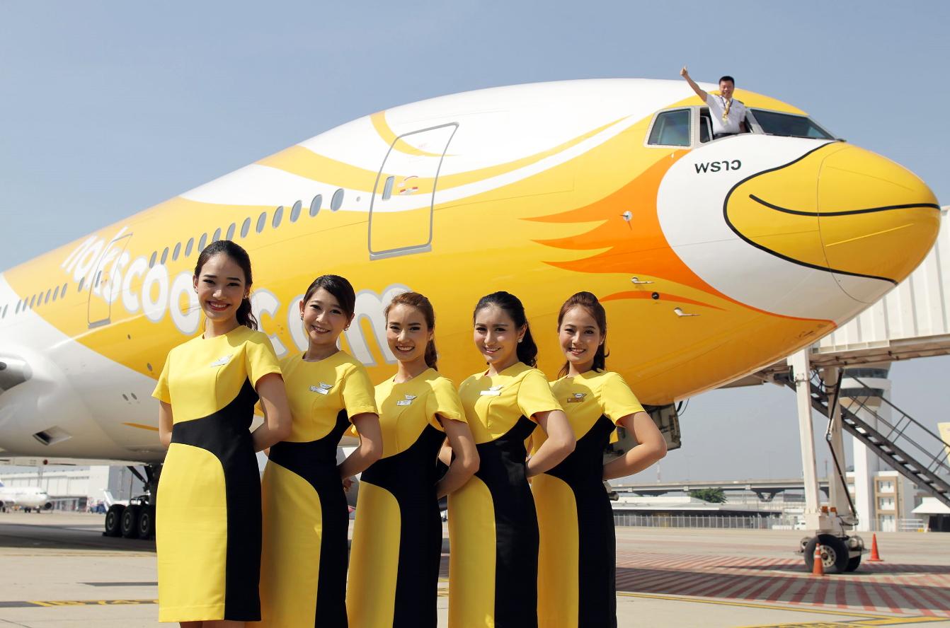 タイ・バンコク拠点のLCCノックスクート、機体デザインとユニフォームを公開