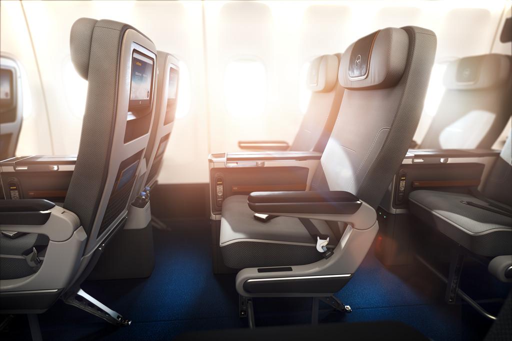 ルフトハンザ、新プレミアムエコノミー搭載のB747-8の運航開始、羽田発便は11月23日から