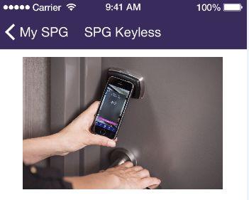 スマホアプリでホテルにチェックイン・入室できる新サービス、スターウッドが導入