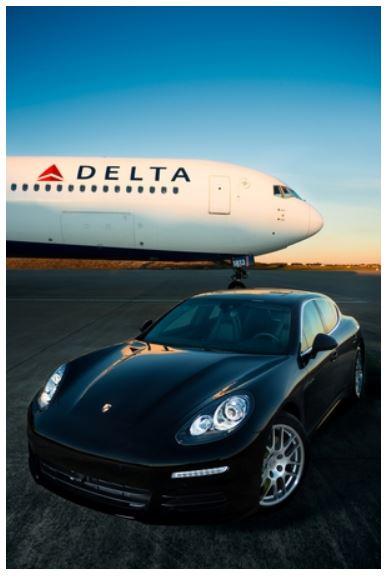 デルタ航空、ポルシェによる空港内移動サービスを米国内3空港で拡大 【動画】