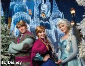 海外ディズニーリゾートがクリスマスイベントを発表、各地で映画「アナと雪の女王」が登場