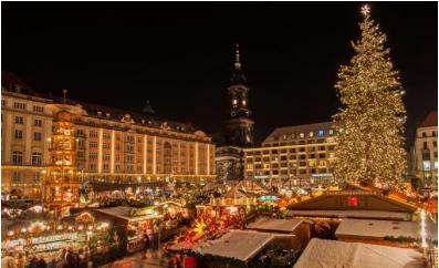 ドレスデンのクリスマスマーケット(ニュースリリースより)