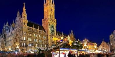 ミュンヘンのクリスマスマーケット(ニュースリリースより