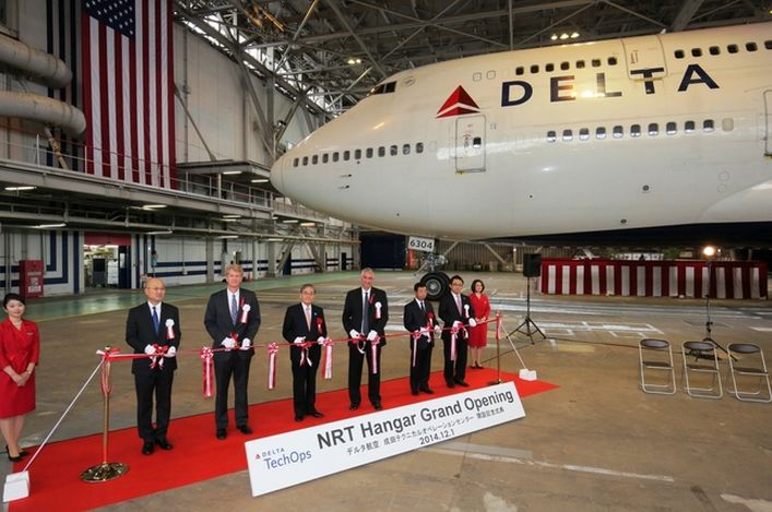 デルタ航空が成田空港に整備拠点を新設 、米国航空会社で初