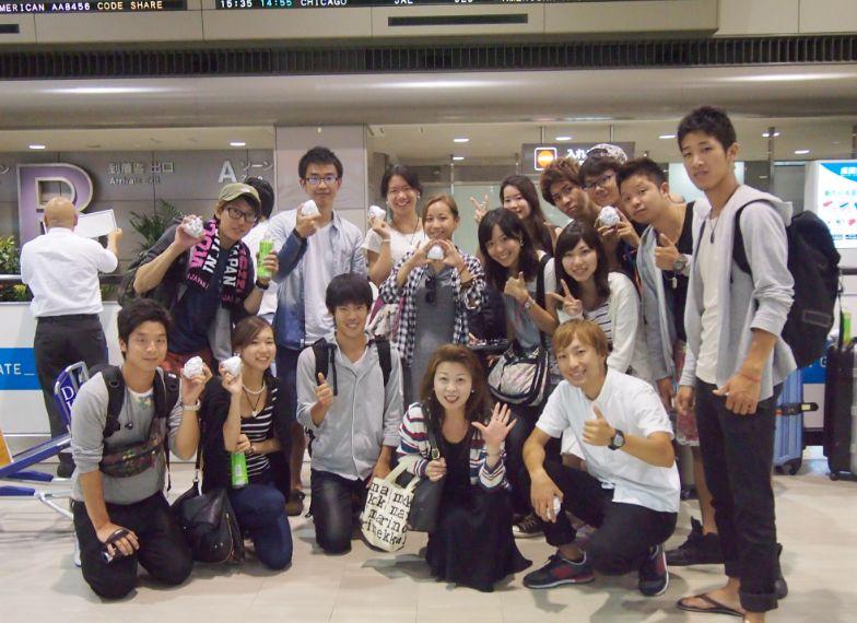 22日間の旅程を終えて成田に無事帰国した学生たち 教職員が去ってからの後半をチーム力で乗り越えた
