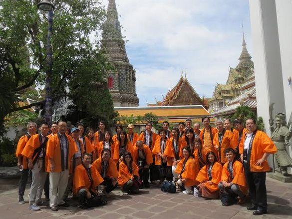 世界から1000人の記者やエージェント関係者を招聘したタイ 政府。日本からも約100人が参加した(2014年7月25日撮影)